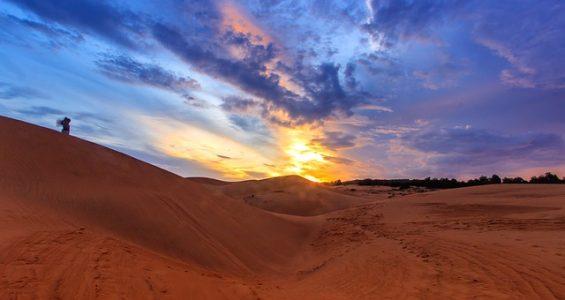 風景、砂漠