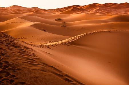 砂丘、風景