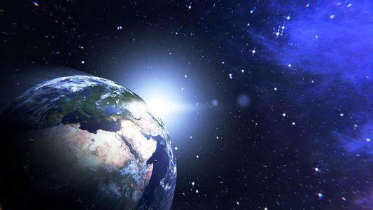 宇宙、地球
