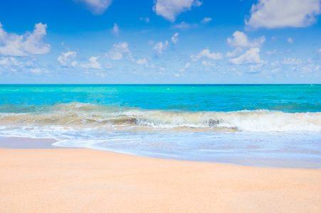 海、夏、砂浜