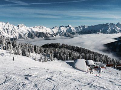 雪山、ゲレンデ