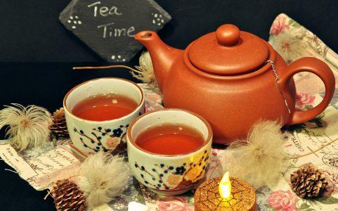 お茶、休憩