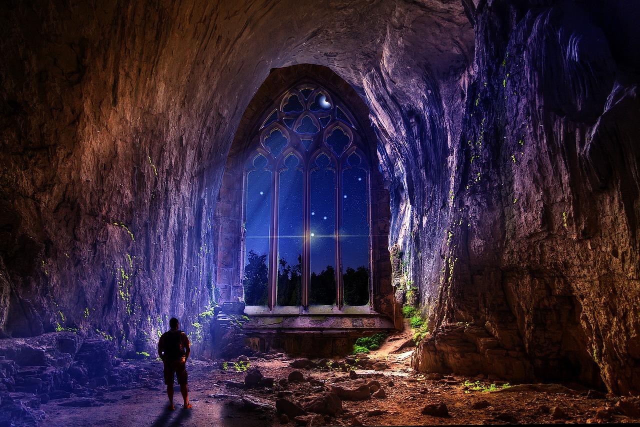 神秘、洞窟