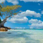 タイ、綺麗な海